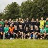 Draudzības spēle futbolā SENIORI – JUNIORI