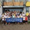 """Miera skrējiens """"Peace Run"""" sasniedz Līvānus"""
