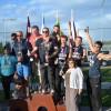 Latvijas izlase uzvar pludmales sēdvolejbolā Līvānos