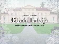"""Ziemas nometne """"Citāda Latvija"""""""