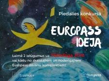 """""""Europass Ideja"""" – konkurss jauniešiem"""