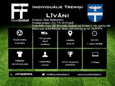 Aicina uz individuāliem futbola treniņiem Līvānos