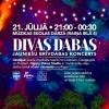 """21. jūlijā aicinām uz brīvdabas koncertu """"Divas Dabas"""""""