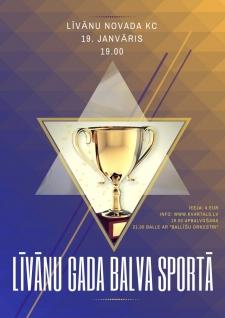 Pasniegs Līvānu gada balvas sportā
