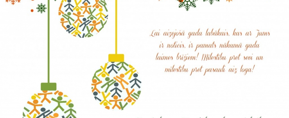Lai skaisti svētki!