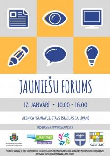 Līvānos notiks Jauniešu forums