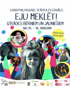 Bērnu un jauniešu teātra festivāls aicina