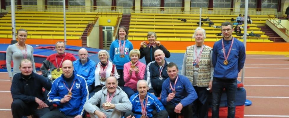 Līvānu senioriem teicams starts vieglatlētikā
