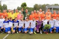 Futbola mačs Juniori – Seniori