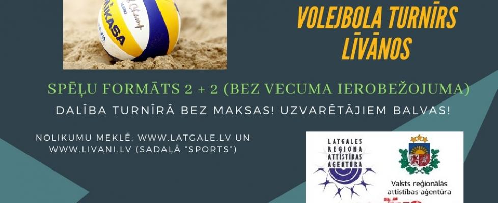 "Latgales pludmales volejbola turnīrs  ""AKTĪVS LATGALEI"""