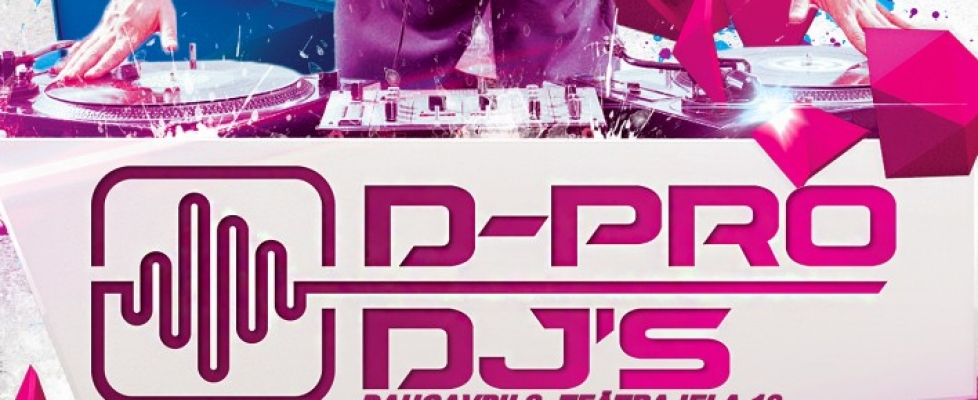Daugavpils DJ skola uzņem dalībniekus