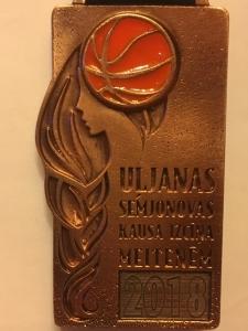 Līvānietei bronza U. Semjonovas kausa izcīņā