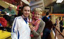 Līvāniete – Latvijas čempione soļošanā