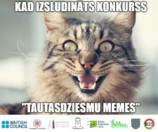 """Izsludināts konkurss """"Tautasdziesmu memes"""""""