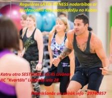 Pievienojies Latin fitness nodarbību grupai!