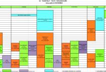 Nodarbību grafiks no Novembra