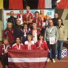 8. atklātais Baltkrievijas čempionāts vieglatlētikā vecmeistariem telpās