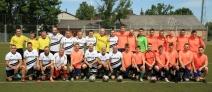 Futbola mačs Juniori-Seniori