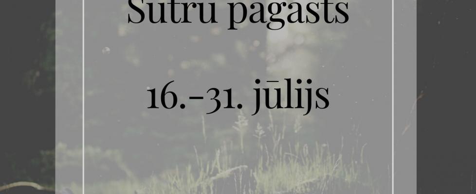 """""""Pieskāriens"""" trešais posms – Sutru Pagasts"""