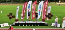 Vieglatlētu starti Latvijas čempionātos