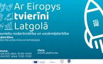 """Diskusiju cikls """"Ar Eiropys tvierīni Latgolā"""" 2021"""