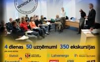 Atvērto durvju nedēļa 50 Latvijas uzņēmumos