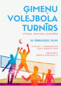 Ģimeņu volejbola turnīrs @ Līvānu 1. vidusskola | Līvāni | Latvija