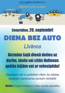 Diena bez auto Līvānos @ Līvānu novads | Līvānu novads | Latvija