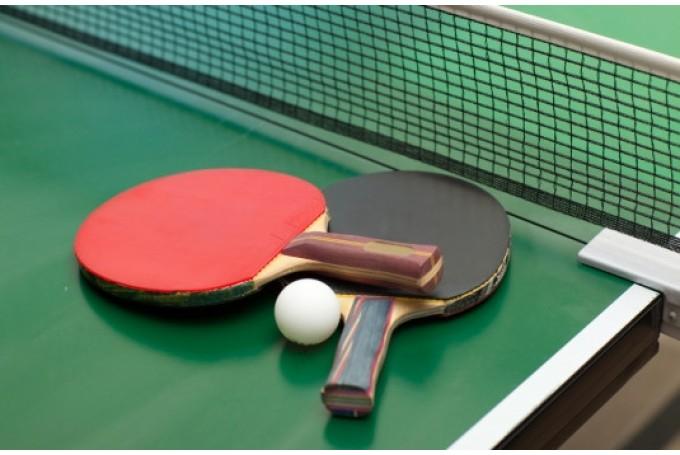 """Ziemassvētku turnīrs galda tenisā @ JIC""""Kvartāls"""""""