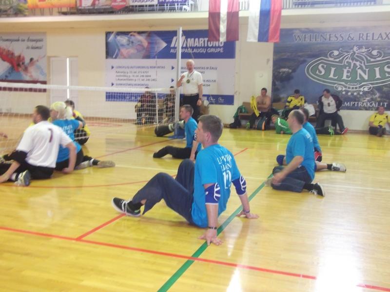 """Baltijas līga sēdvolejbolā-2019"""", """"Draudzības kauss"""" (organizē Latvijas Invalīdu sēdvolejbola asociācija) @ Līvānu 1.vsk."""