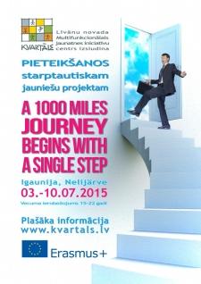 Piesakies jauniešu projektam Igaunijā!