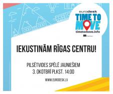 Aicina piedalīties orientēšanās spēlē Rīgā