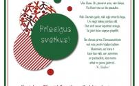"""JIC """"Kvartāls"""" sveic svētkos!"""
