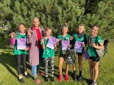 LĪVĀNU BJSS meitenes – Latvijas čempiones volejbolā U-13 grupā